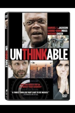Unthinkable - DVD-R cover