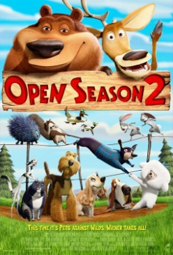 Open Season 2 - HD DVD cover