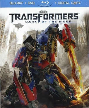Transformers 3: Dark Of The Moon - Blu-ray cover