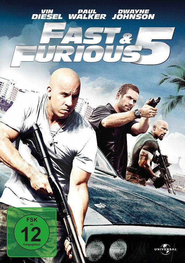 Fast & Furious 5 -  cover