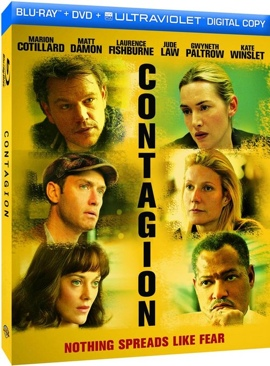 Contagion - Blu-ray cover