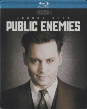 Public Enemies - Blu-ray cover