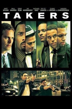 Takers - HD DVD cover