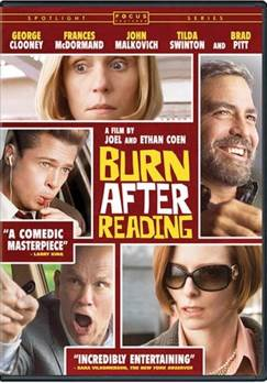 Burn After Reading - CED cover