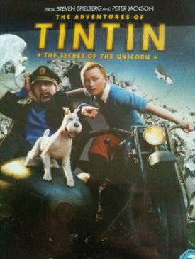 The Adventures Of Tin Tin - Blu-ray cover
