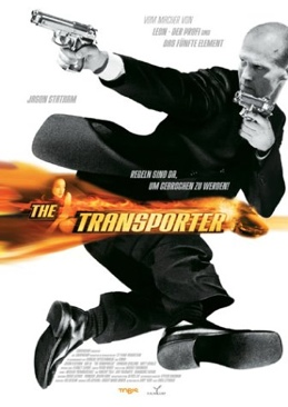 The Transporter - Blu-ray cover