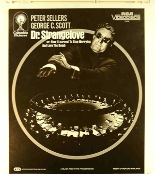 Dr. Strangelove or: How I Learned to Stop Worrying and Love the Bomb - CED cover