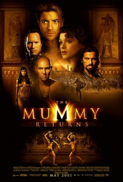 The Mummy Returns - Video CD cover