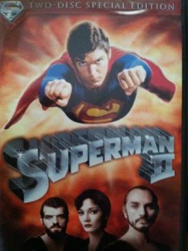 Superman II - DVD cover