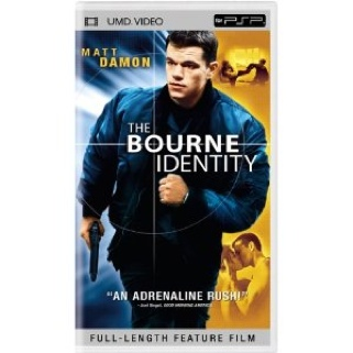 The Bourne Identity - UMD cover