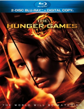 Hunger Games - Blu-ray cover