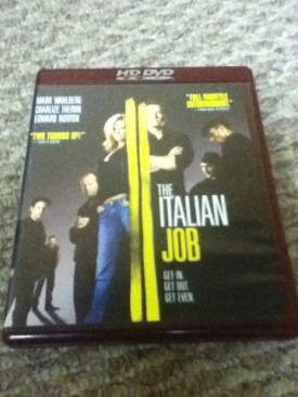 The Italian Job - HD DVD cover