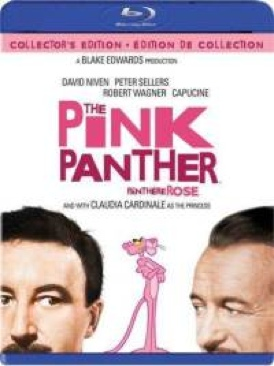 The Pink Panther - Blu-ray cover