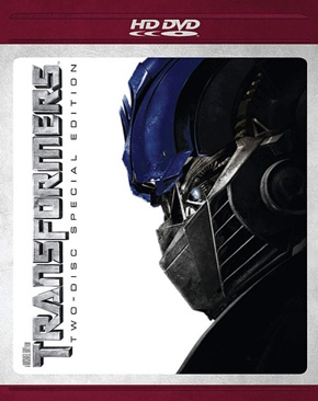 Transformers - HD DVD cover