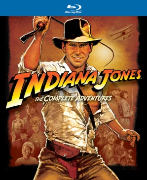 Indiana Jones: The Complete Adventures - Blu-ray cover