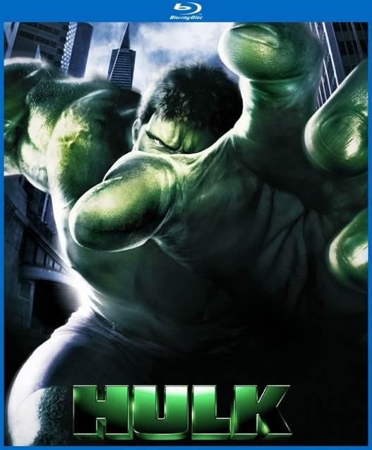 Hulk - DVD cover