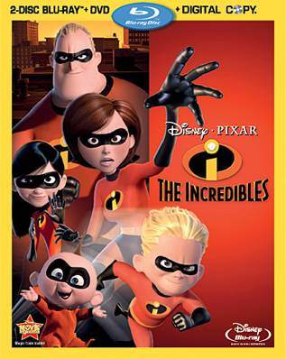 The Incredibles - UMD cover