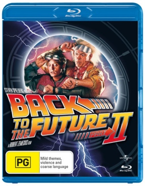 Back to the Future II - Blu-ray cover