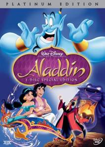 Aladdin (Platinum Edition) - DVD cover