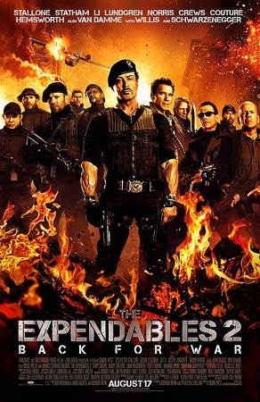 The Expendables 2 - Laser Disc cover