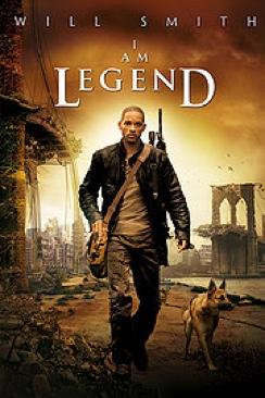 I Am Legend - DVD-R cover