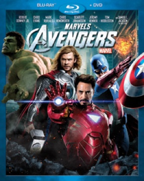 Avengers - Blu-ray cover