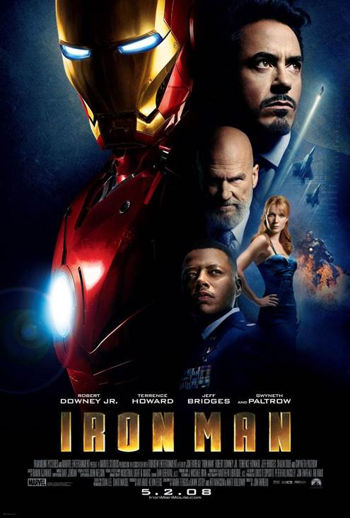 1. Iron Man -  cover