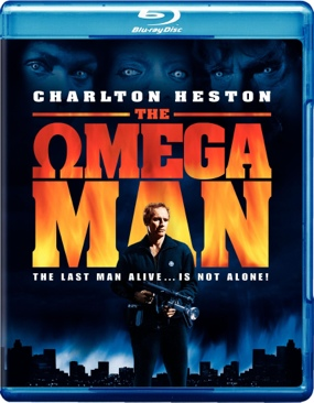 The Omega Man - Blu-ray cover