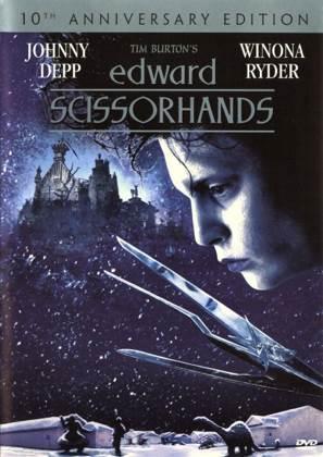 Edward Scissorhands - VHS cover