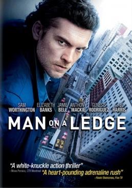 Man On A Ledge - DVD-R cover