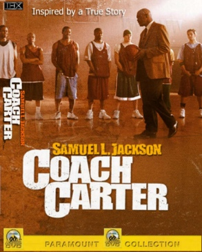 Coach Carter - Blu-ray cover