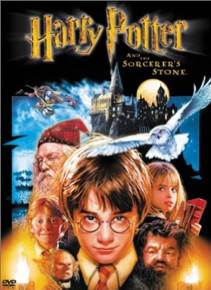Harry Potter and the Sorcerer's Stone - Blu-ray cover