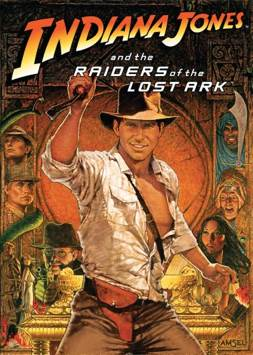 Indiana Jones And The Raiders Of The Lost Ark - Blu-ray cover