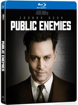 Public Enemies - Blu-ray cover