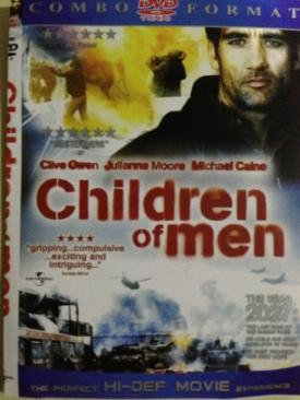 Children of Men - DVD cover