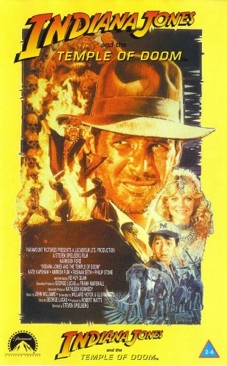 Indiana Jones and the Temple of Doom - VHS cover