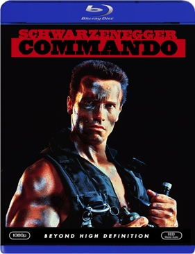 Commando - Blu-ray cover