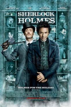 Sherlock Holmes - DVD-R cover