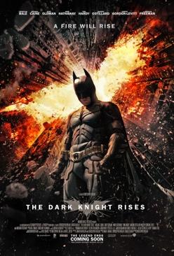 The Dark Knight Rises - Blu-ray cover