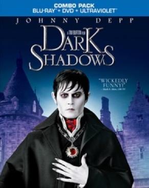 Dark Shadows - Blu-ray cover