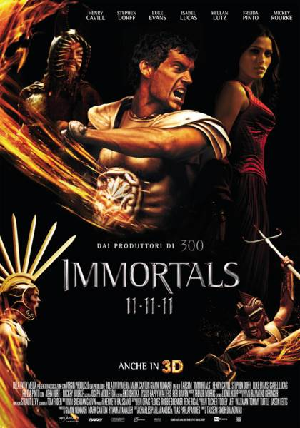 Immortals - UMD cover