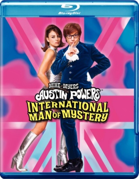 Austin Powers: International Man Of Mystery - Blu-ray cover