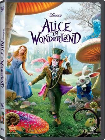 Alice in Wonderland - Blu-ray cover