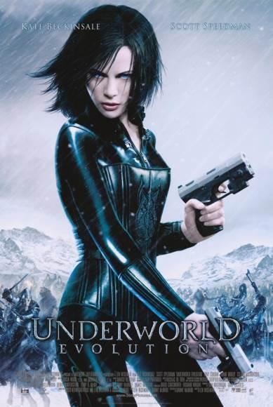 Underworld: Evolution - DVD cover