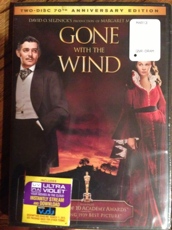 Gone with the Wind - Digital Copy cover