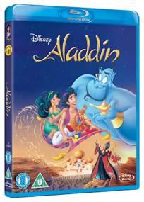 Aladdin - DVD cover