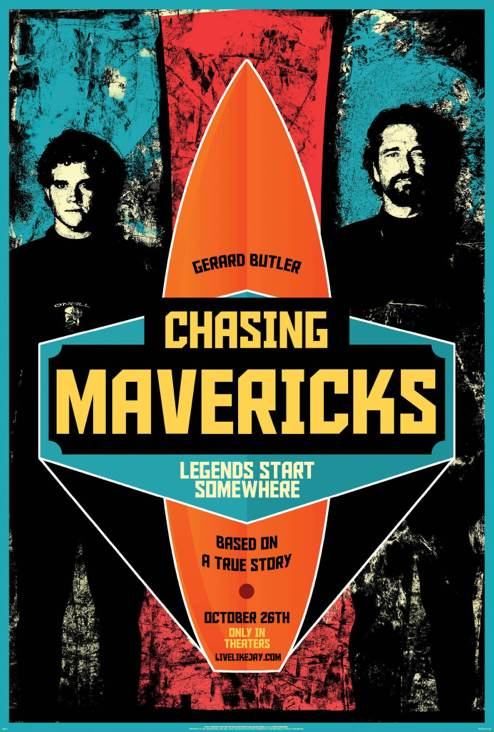 Mavericks - Blu-ray cover