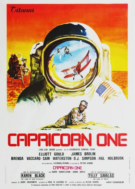 Capricorn One - CED cover
