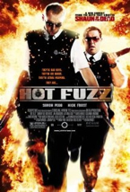 Hot Fuzz - Blu-ray cover