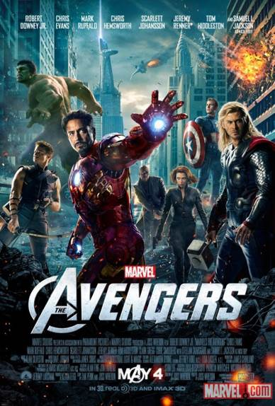 The Avengers - DVD cover